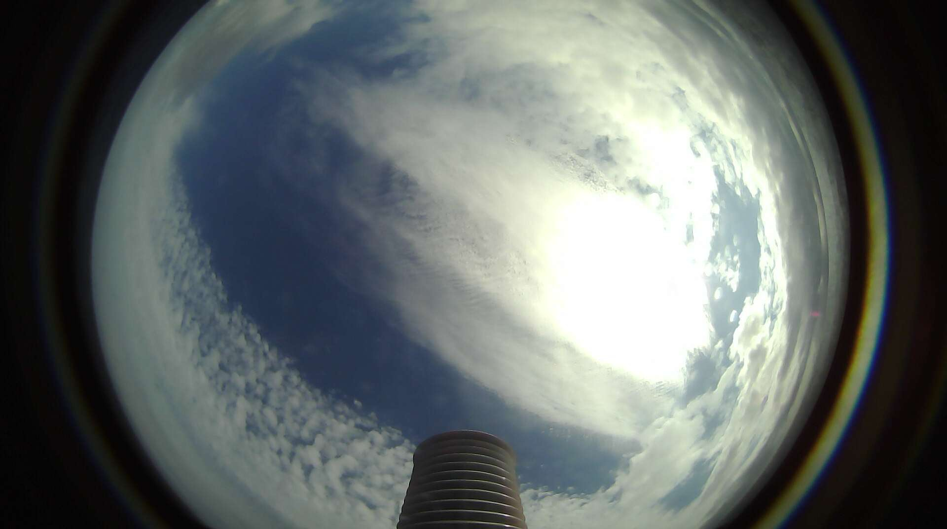 Sky-facing picture taken by SD 1002